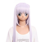 SureWells Fabulous Wigs Lacefront wig costume wig of Vampire Knight wig long purple for girls party wig