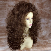AMAZING SEXY Wild Untamed Long Curly Wig Light Brown Ladies Wigs ! Wiwig UK