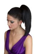 Dark Brown, Straight Hairpiece Ponytail Extension
