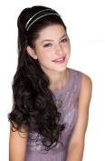 Extra Long, Dark Brown, Curly Hairpiece Ponytail Extension