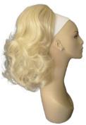Light Blonde Curly Ponytail 150g