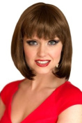 Light Warm Brown Inverted Graduated Bob Style Wig : Felicity 200g