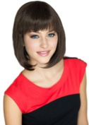 Annabelle's Wigs Dark Choclate Brown Inverted Graduated Bob Style Wig : Colette 200g