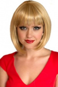 Annabelle'S Wigs Soft Golden / Light Blonde Inverted Graduated Bob Wig : Isabelle 200g
