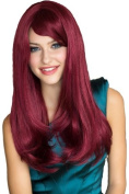Annabelle's Wigs Very Natural Wine Red Razor Cut, Face Frame Style Wig