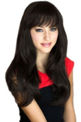 Dark Brown Face Frame, Razor Cut Style Wig, Very Natural