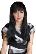 Very Natural, Black, Razor Cut, Face Frame Wig
