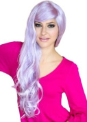 Annabelle's Wigs Extra Long Light Purple Wig With Soft Tumbling Curls