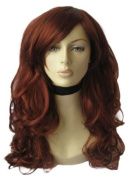 An Extra Long, Copper Red Wig