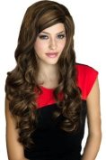 Annabelle's Wigs Extra Long, Wavy, Warm Brown Wig With Blonde Highlights : Hope 250g