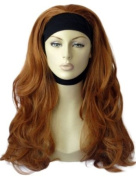 Annabelle's Wigs Ginger Wavy ¾ Or Half Wig Hairpiece Extension