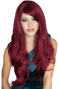 Annabelle's Wigs Stunning Extra Long, Full Wavy Wine Red Wig