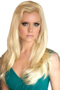 Blonde Straight Half Wig Or ¾ Wig Hairpiece Extension