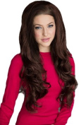 Annabelle's Wigs 3/4 Or Half Wig Hairpiece Extension, Reddish-Brown, Long Loose Curls