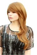 Cosplayland C869 - 65cm layered straight brown blond heat resistand daily chic Wig