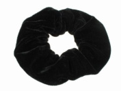 Glitz4Girlz Black Velvet Scrunchie