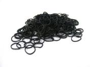 Pack of 250 Small Mini Hair Elastics Rubber Braiding Bands for Dreads Cornrows Braiding