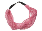Glitz4Girlz Pink Lace Headwrap