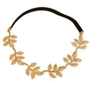 New Fashion Gold Leaf Festival Grecian Garland Hippy Forehead Head Hair Band