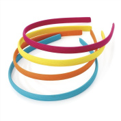 Divadoo Four Piece Bright Tone Hairband Set