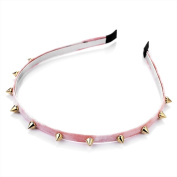 Light Pink Dip Dye Studded Alice Band AJ25921