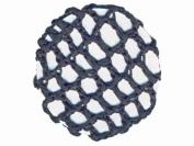 Glitz4Girlz Black Ribbon Bun Net
