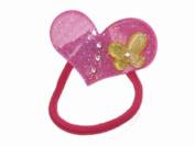 Glitz4Girlz Hot Pink Heart Butterfly Bobble