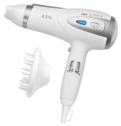 AEG Professional Hairdryer With Eco Save and Ion Technology White