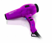 Diva Professional Styling Ultima 5000 Pink Rubberised Hairdryer with Wand