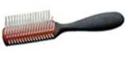 Denman D143 Small Styling Brush (5 row) - DENT143SBLK