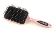 Head Jog 81 Professional Large Soft Touch Pink Ionic Paddle Hair Brush
