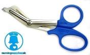 Blue Trauma Shears / EMT Scissors Small