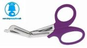 Purple Trauma Shears / EMT Scissors Small