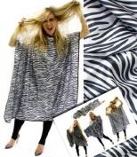 Hair Tools Zebra Cutting Gown