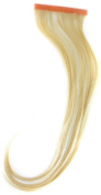 Qwik X 100 Percent Indian Remi Human Hair Tape Hair Extensions Colour 60/ 613 Pure Blonde/ Cream Blonde 41cm