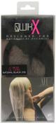 Qwik X 100 Percent Indian Remi Human Hair Tape Hair Extensions Colour 1B Natural Black 41cm