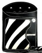 Haito zebra print holster