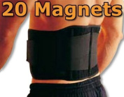 XXL Magnetic Back Support Lumbar Brace