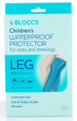 Bloccs Child Small Full Leg Waterproof Cast Cover 1-3 years