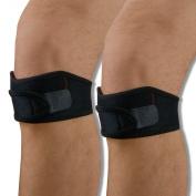 2 X Patella Tendon Knee Straps by Neo Physio.