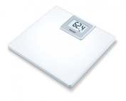 Beurer PS05 Classic White Acrylic Bathroom Scale