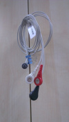 Prince 3-lead ECG Wires for 180A 180B Monitors