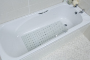 NRS Rubber Grip Anti Slip Bath Mat Standard Length 80cm