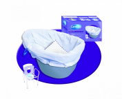 NRS Disposable Bio Care Commode Potty Liner Bags - Pack of 20