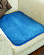 Incontinence Protection Chair Pad - Blue