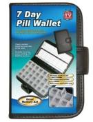 Deluxe 7-Day Pill Organiser Box In Wallet