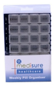 Medisure Weekly Pill Organiser 28 Compartments