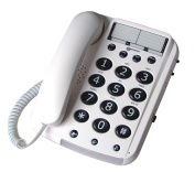 Geemarc Dallas 10 Big Button Corded Telephone