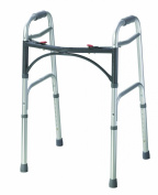 Drive Medical WA008 Folding Walking Frame 43cm Depth x 60cm Width x 100cm Height