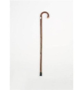 Traditional Wooden Walking Stick, Crook Handle Mobility
